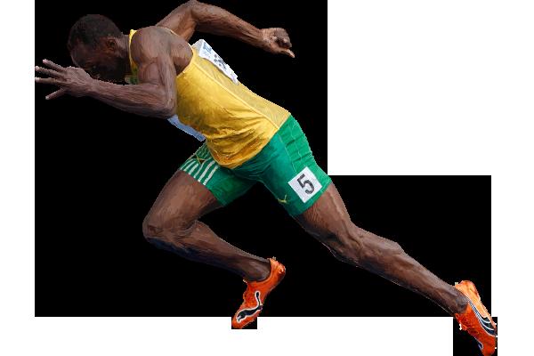 Usain Bolt PNG File