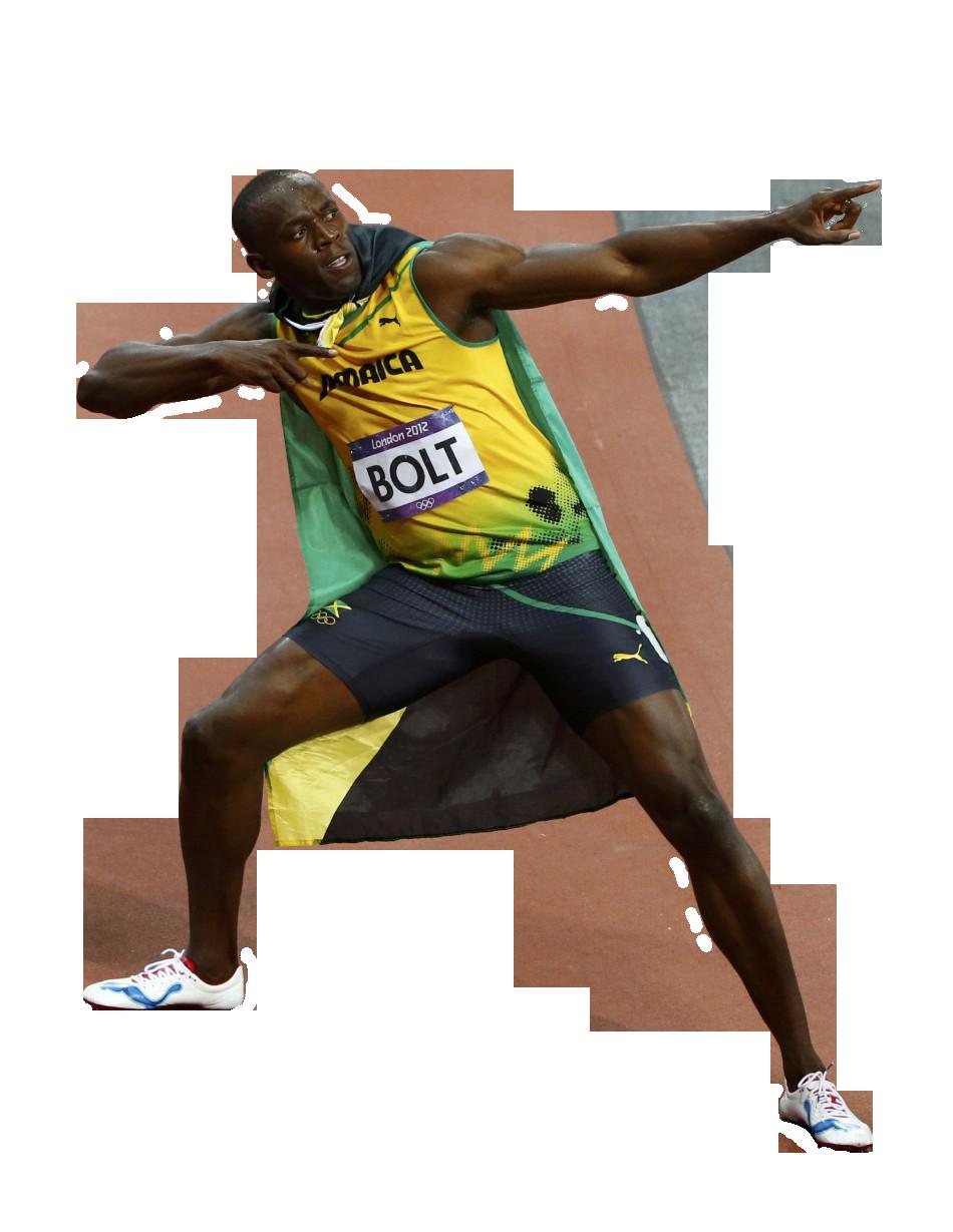 Usain Bolt PNG Image