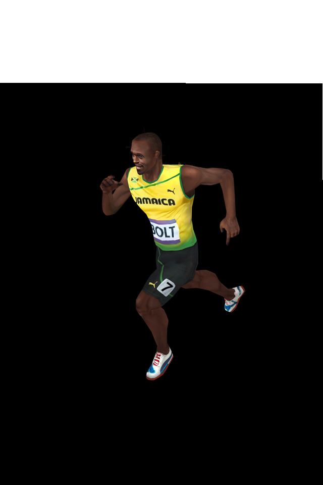 Usain Bolt Transparent Background PNG Image
