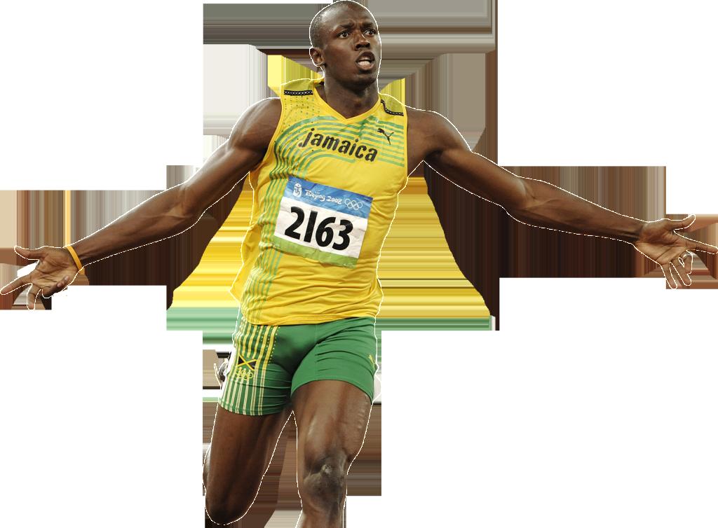 Usain Bolt Transparent Image PNG Image