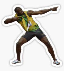 Usain Bolt Tribute Sticker