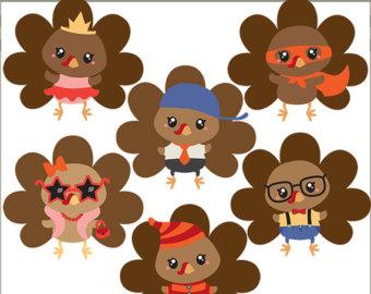 Use- Cute Turkey Clipart .