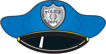 Use These Free Images For You - Police Hat Clip Art