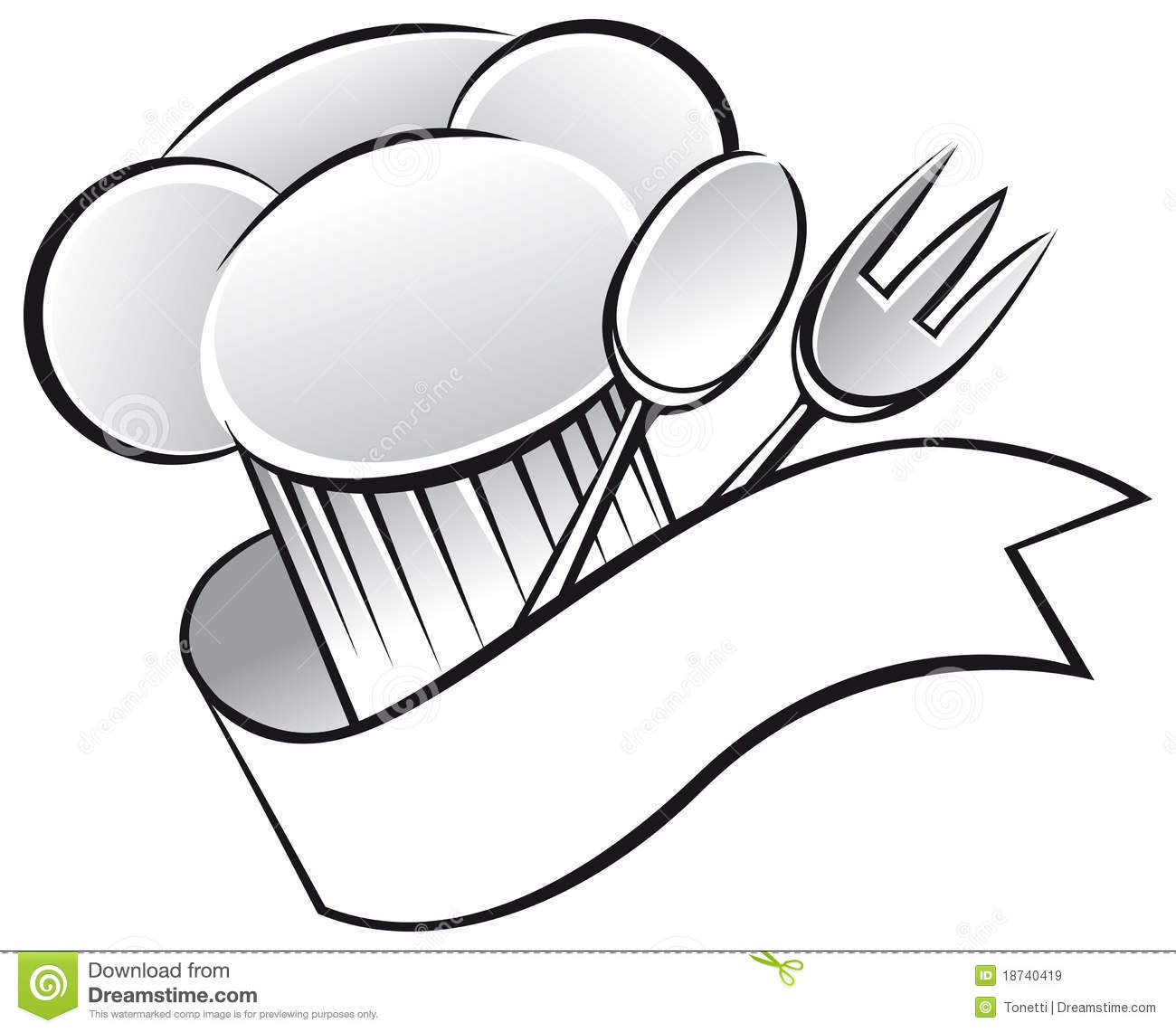 Utensils And Chef Hat Clipart-Utensils And Chef Hat Clipart-16