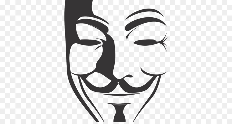 Guy Fawkes mask V for Vendetta Clip art - v for vendetta