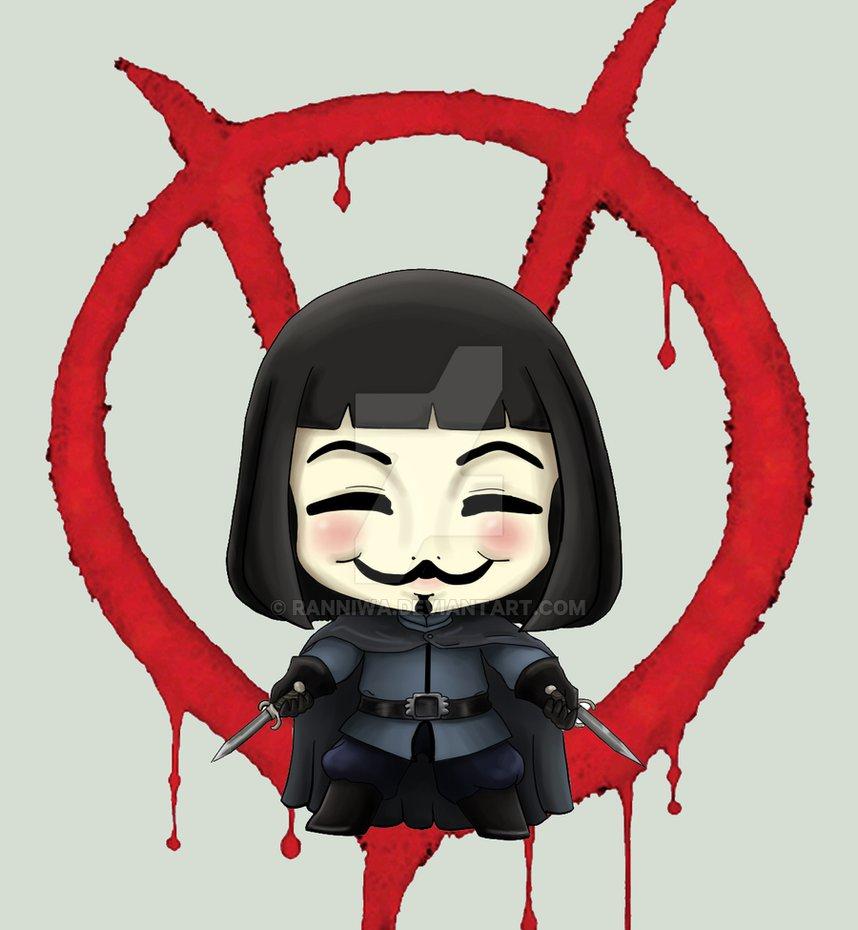 V for Vendetta by RanNiwa ClipartLook.co-V for Vendetta by RanNiwa ClipartLook.com -21
