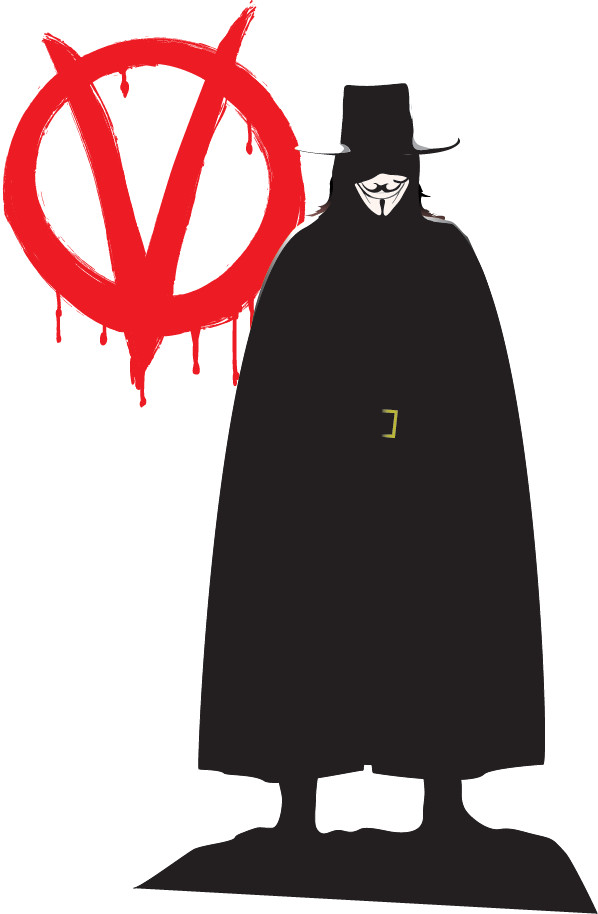 V for Vendetta Fan Art by Lappy74 ClipartLook.com