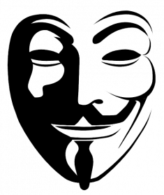 V For Vendetta PNG Transparent Image