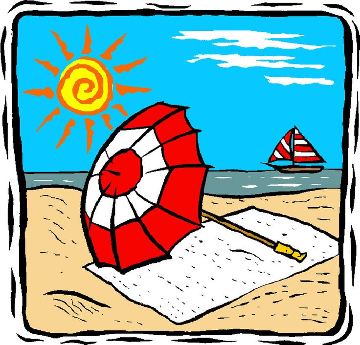 Vacation beach clip art free bing images visor art clip