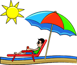 Beach vacation clipart free clipart images
