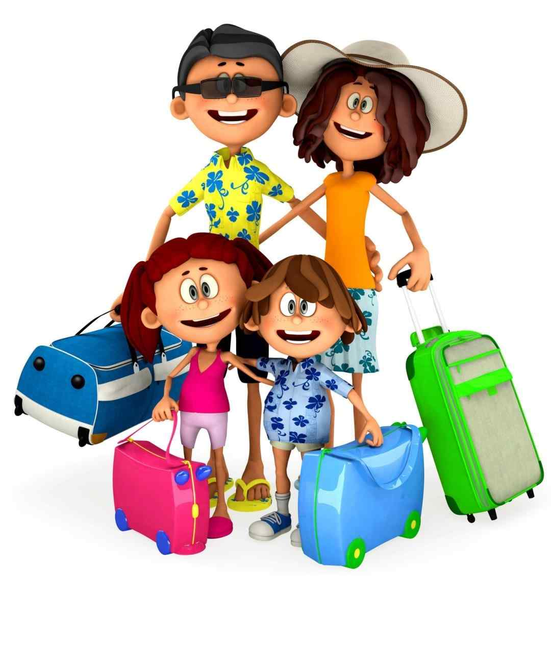 By family vacation clipart go - Vacation Clipart