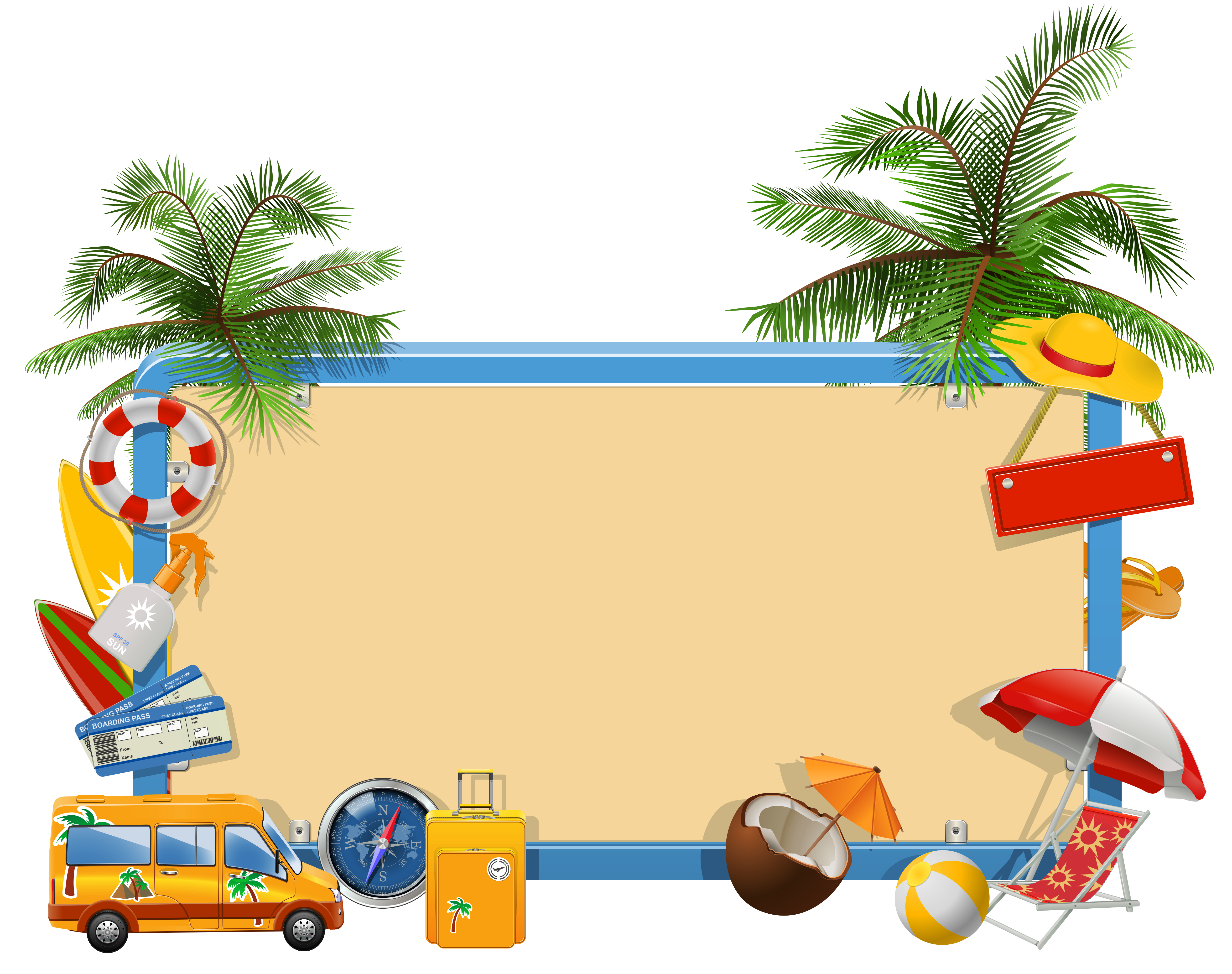 Vacation Clipart Image #25098