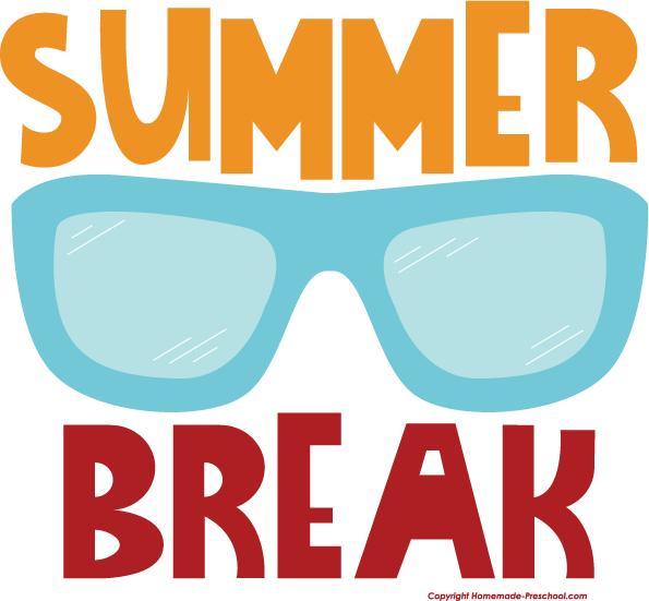 Vacation summer school break clipart clipart kid