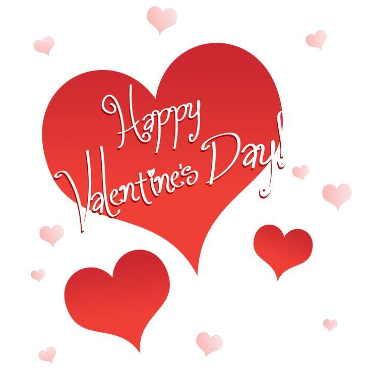 valentineu0026#39;s day clip art | Happy-valentineu0026#39;s day clip art | Happy Valentineu0026#39;s Day! - Vector illustration of hearts with the-7