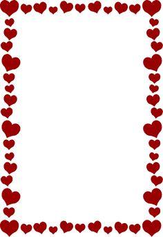 Valentine borders clip art - ClipartFox