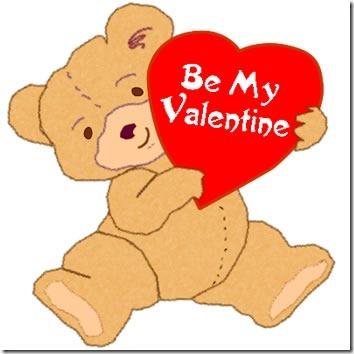 valentine clip free .