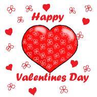 ... Valentine Clipart Heart In Green Box-... valentine clipart heart in green box u0026middot; happy valentines day-17