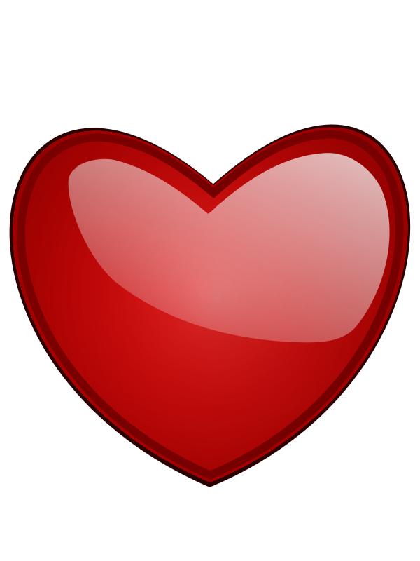valentine heart clip art .