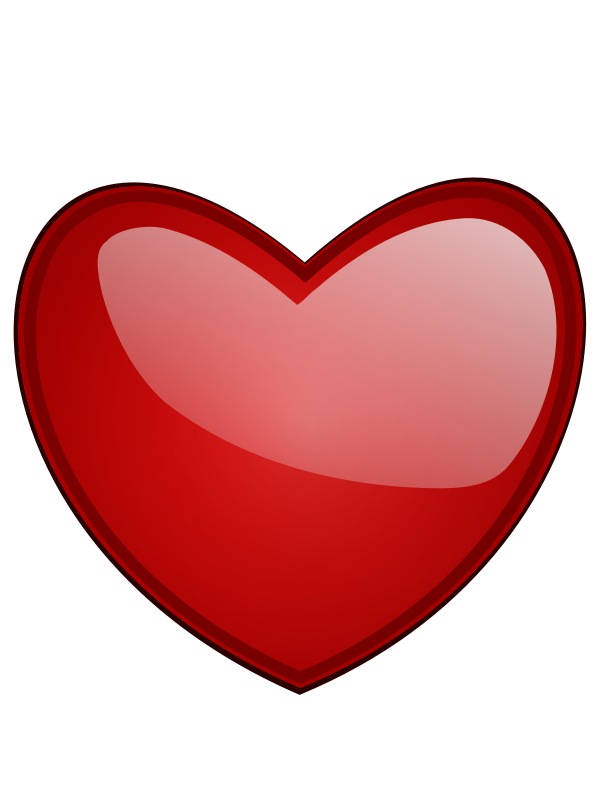 valentine heart clip art .-valentine heart clip art .-12
