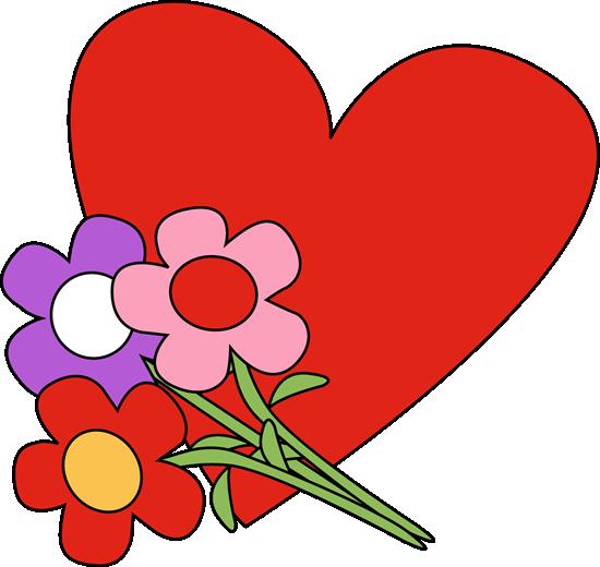 Valentineu0027s Day Heart And Flowers-Valentineu0027s Day Heart and Flowers-10