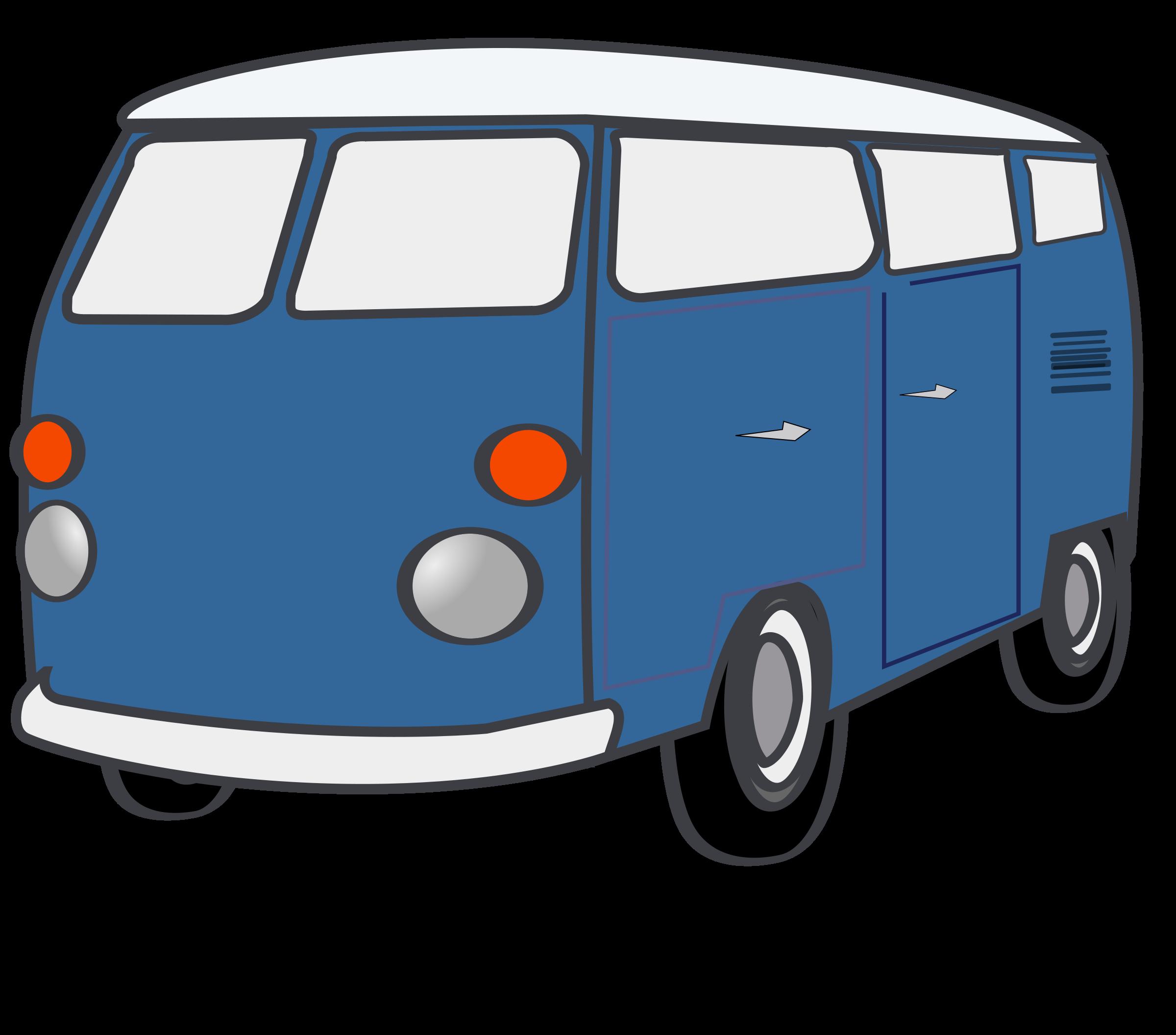 Hippie Van Clipart