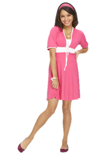 Vanessa Hudgens Gabriella Montez Disney High School Musical Movie Clipart 2