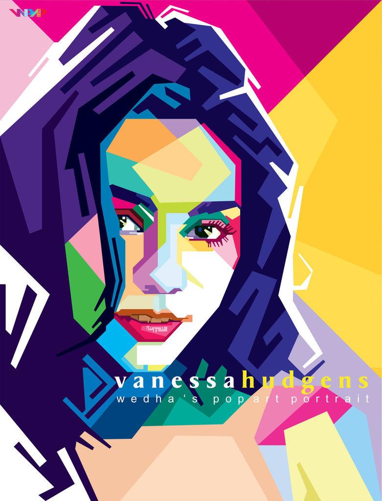 Vanessa Hudgens in wpap by NealWDart ClipartLook.com