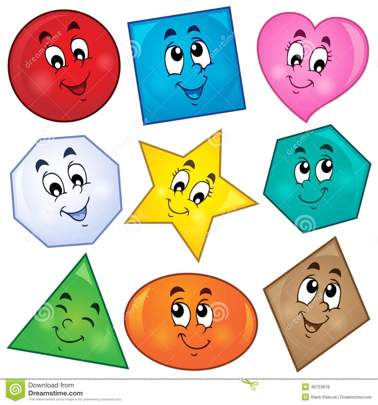 Various shapes theme image 1  - Shapes Clip Art