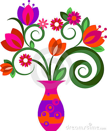 Vase With Flowers In A Frame .-Vase With Flowers In A Frame .-5