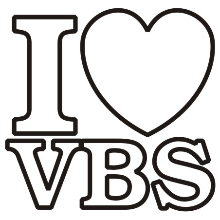 Vbs Black And White Clipart #1