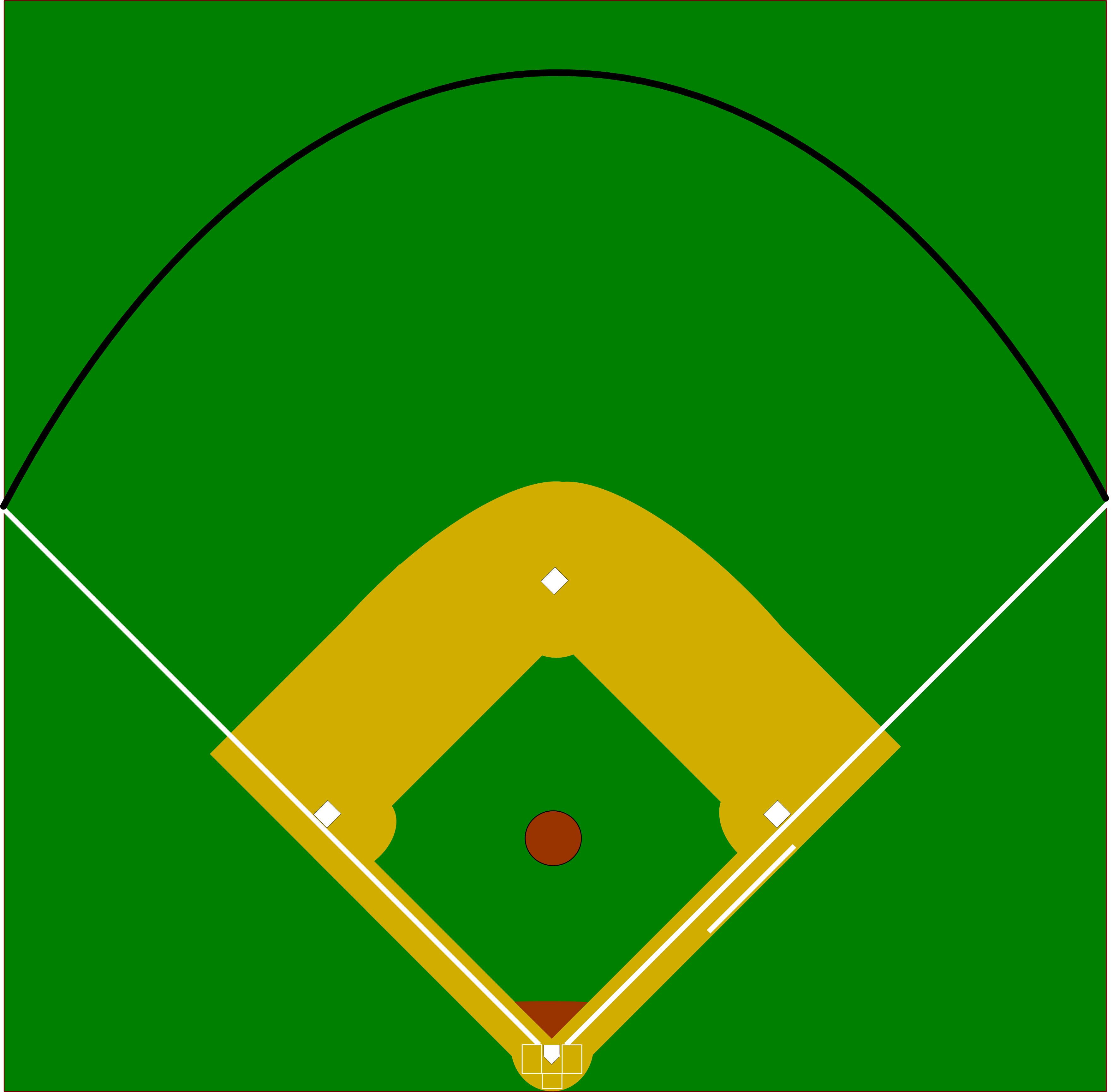 Vector Baseball Diamond Clipart Best-Vector Baseball Diamond Clipart Best-18