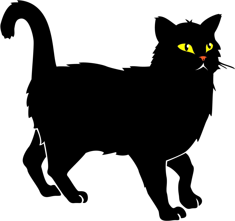 Vector Cat Clipart Library Black Clip Ar-vector cat clipart library black clip art-15