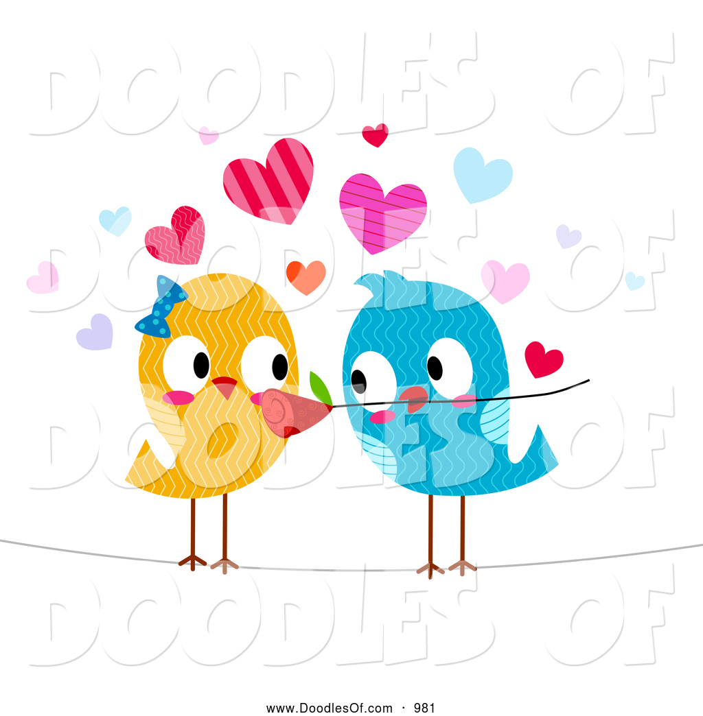 Vector Clipart of Romantic .