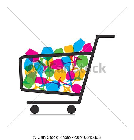 Vector - crockery purchase ve - Purchase Clipart