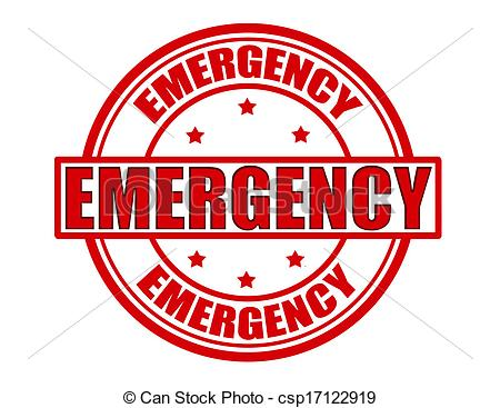 Vector Emergency Stock Illustration Royalty Free Illustrations