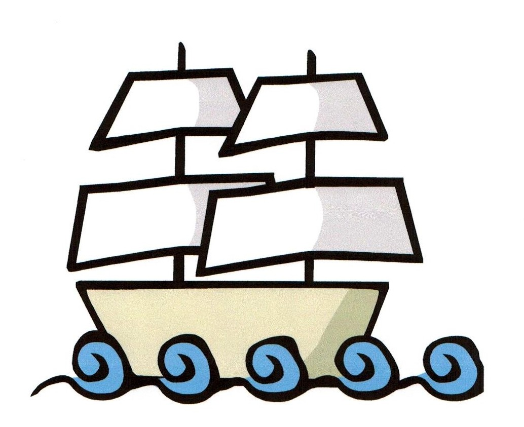 Vector - galleon Mayflower - Mayflower Clip Art