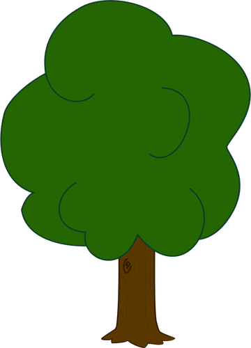 Vector Graphics Of Younger Oak Tree-Vector graphics of younger oak tree-18