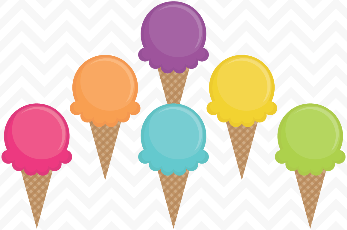 Vector ice cream clip art .