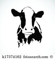 Vector Image Of An Cow-Vector image of an cow-18
