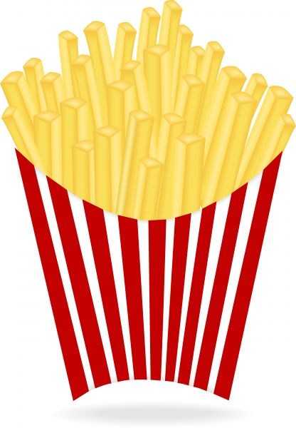 Vector Image Of French Fries.-vector image of french fries.-19