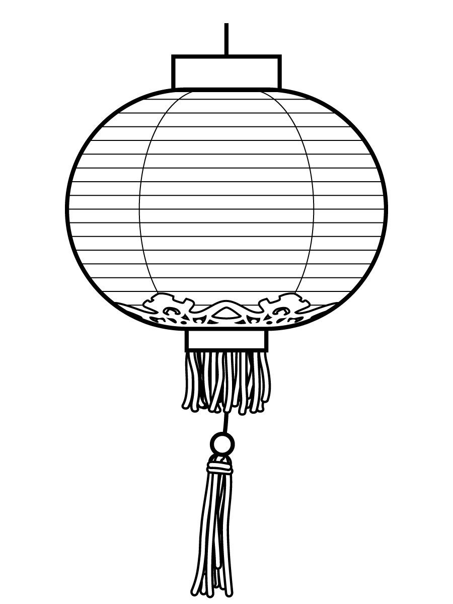 Vector Lantern Clip Art. Chinese Lantern-vector Lantern clip art. Chinese Lanterns Drawing-17