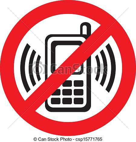 Vector - no cell phone sign-Vector - no cell phone sign-17