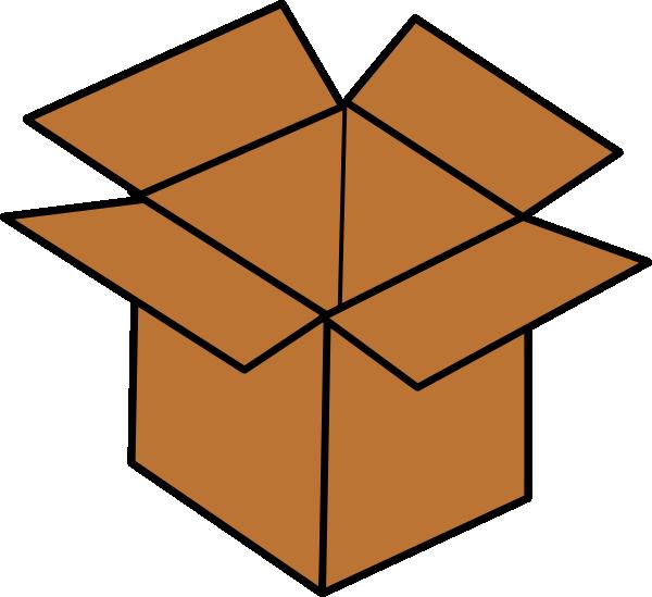 Vector Open Box Clipart