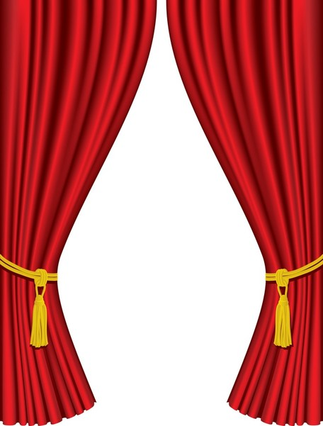 Vector Red Carpet Curtain; 5 Practical C-Vector Red Carpet Curtain; 5 Practical Curtain-7