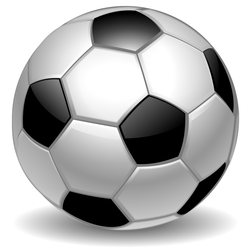 Vector soccer ball clip art .-Vector soccer ball clip art .-8