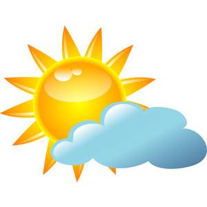 Vector sunny field clip art freevectors. Sunny cliparts 2