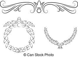 Vector tattoo Clipartby jelen8045/13,113-Vector tattoo Clipartby jelen8045/13,113; Filigree - Vintage filigree elements-16