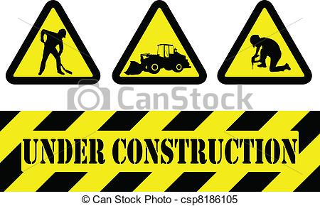 ... Vector Under Construction Signs Stoc-... vector under construction signs stock ilration royalty free; under construction clip art clipart ...-19