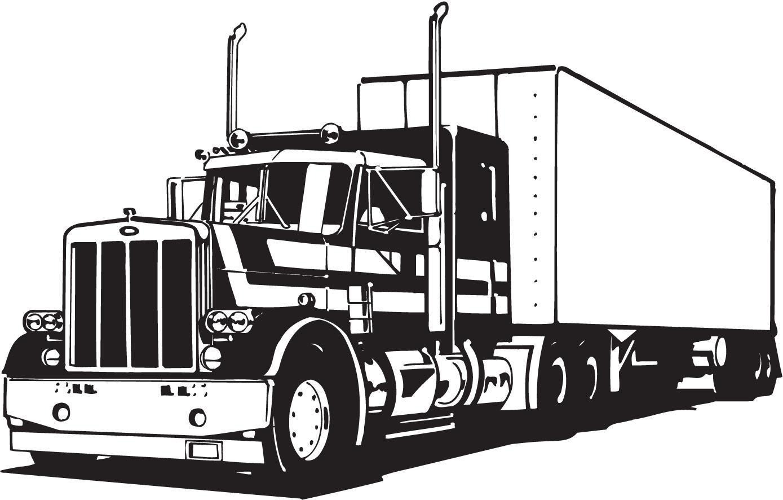 Vectorian Art Truck Lineart Vectorfree D-Vectorian Art Truck Lineart Vectorfree Download Free Download Vector-17