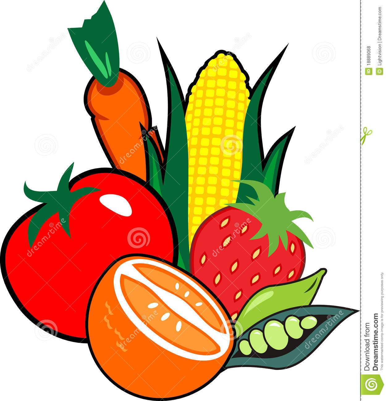 Clipart Vegetables
